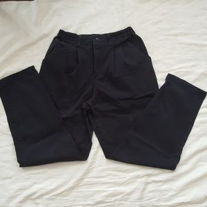 Lee Size 12 Navy Relaxed Fit Dress Pants M541